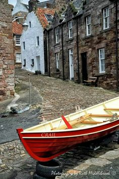 Scotland Travel Inspiration - Crail is a historic fishing village in the East Neuk of Fife, Scotland. It is only 90 minutes by car from Edinburgh and 10 miles south of St Andrews, the Home of Golf. The Places Youll Go, Places To Visit, Beautiful World, Beautiful Places, Scotland Travel, Fife Scotland, St Andrews Scotland, England, Fishing Villages