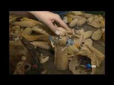 Artesanato com palha de milho - YouTube
