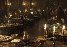 Image result for game of thrones banquet scene