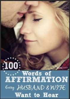 Words of affirmation for husband