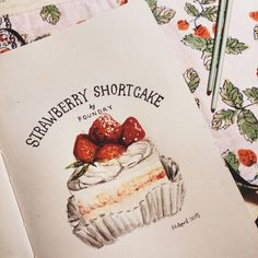 Strawberry shortcake.sketch.watercolor 05.2015