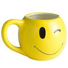 Next time I'm at Pier 1 I'm getting this mug.  It makes me happy.