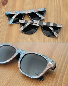 1569d8675f87 Make your own tortoise shell sunglasses.