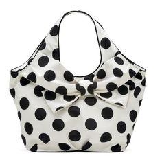 Adorable Polka Dot Handbag.