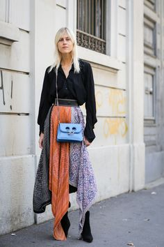 Milan Fashion Week Street Style Is 90% Gucci #refinery29 http://www.refinery29.com/2017/09/173245/milan-fashion-week-street-style-spring-2018#slide-40