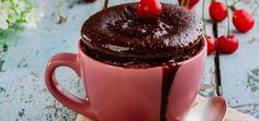 5 Receitas de bolo de caneca fáceis e deliciosas