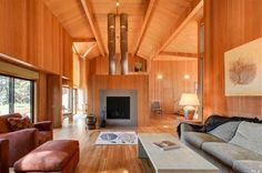1987 Sea Ranch home designed by William Turnbull.