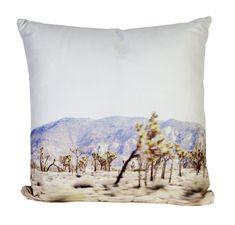 Joshua Tree Outdoor Throw Pillow designed by elise flashman