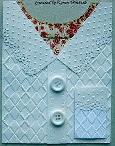 Embossed Sweater Card