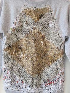 knitting, knitwear, crochet & other fiber obsessions Cast On Knitting, Easy Knitting, Knitting For Beginners, Knitting Stitches, Knitting Yarn, Knitting Patterns, Knit Art, Diy Vetement, How To Purl Knit