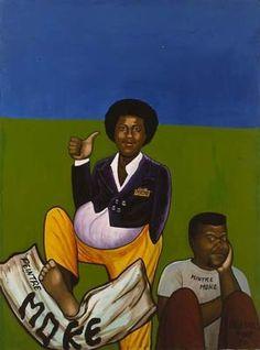Chéri Samba et Moké by Moke - Pigozzi Collection 2020 Cheri Samba, Seydou Keita, Contemporary African Art, Canvas, Collection, Artist, Artwork, Books, Painting