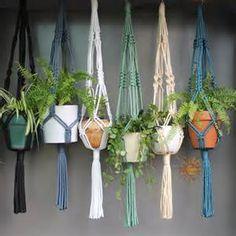 macrame plant hangers - Ecosia
