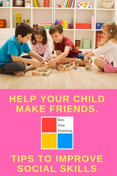 Need ideas or activities to boost your kid's social skills? This article gives tips to help your child make friends. No needs to worry parents!!