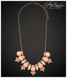 Pretty Little Liars Hanna Cluster Long-Strand Necklace - Aeropostale