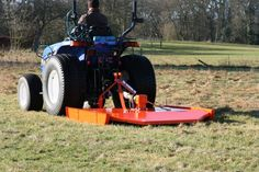 If you use a 14hp, 16hp or 25hp compact tractor there's an ideal pasture topper in the shape of the Wessex Country CT 120, CT 150 and CT 180 models respectively. They have become firm favourites over the years, not least because they are well-built yet economical and are designed to fill the gap between lesser imports and the professional Wessex range.