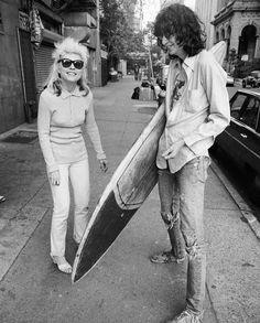 Debbie Harry en Joey Ramone (Foto Chris Stein)