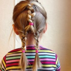 27 Meilleures Images Du Tableau Coiffure Facile Petite Fille Easy