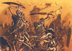 latest (977×697) Fantasy Battle, Fantasy Races, Dark Fantasy Art, Medieval Fantasy, Sci Fi Fantasy, Warhammer Tomb Kings, Warhammer Art, Warhammer Fantasy, Dark Artwork