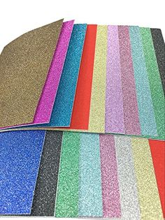 10 x 15cm Self Adhesive Gemstone Metallic Glitter Sign Sticker Art Sheets 20 Sheets Mixed Colors -- Find out more about the great product at the image link. (Note:Amazon affiliate link)