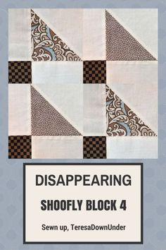Video tutorial: disappearing shoofly block – variation 4