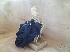 Art Doll Wire and Paper Sculpture  Solitude by MesssieJessie, £82.00