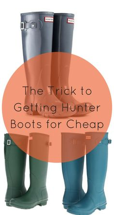 Shop your favorite fall boots and booties, from brands such as Hunter, Frye, Tory Burch, and many more. Discounts of up to 70% off retail! Click the image above to download the free Poshmark app now.