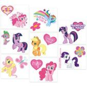 My Little Pony Tattoos 16ct- Tattoos- Girls Party Favors- Birthday Party Favors- Birthday Party Supplies - Party City