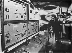View of the Radio Operators Position, MG34