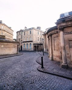 """""""This is the pretty street that runs between the Cross Bath and the Thermae Bath. England Ireland, London Calling, Book Illustrations, British Isles, Jane Austen, Bath Time, Somerset, World Heritage Sites, Great Britain"""