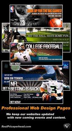 With a dedicated webdesign team Realpriceperhead.com gives top priority to keep all player websites up to date with relevant and current events information. Payperhead websites are also available at no extra charge for new and existing #Payperhead #bookies www.realpriceperhead.com