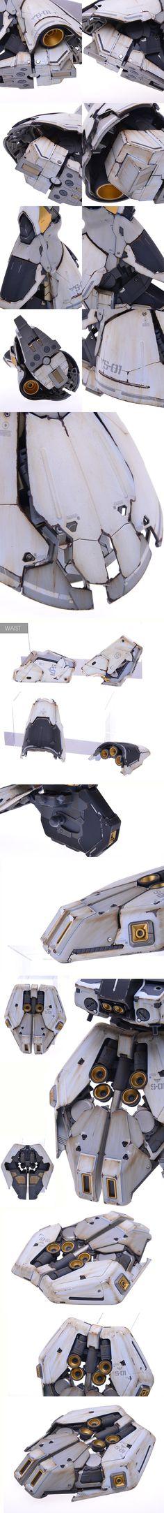 MG SAZABI サザビー Ver.MK39 塗装済み完成品 - ヤフオク!