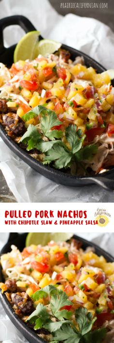 Pulled Pork Nachos t