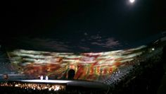 This was the most romatic and amazing live music experience, with full moon lighting up the sky, acting as part of the stage back drop, the orchestra playing and Domingo with his apprentice singing a beautiful duet from the pearl fisher, this is when one wishes her romeo would appear.