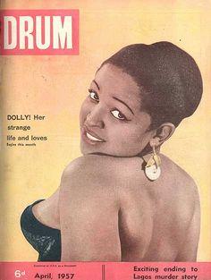 Drum Magazine, Jet Magazine, Black Magazine, Life Magazine, African Life, African Style, African Beauty, African Women, Murder Stories