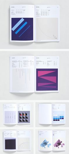 City of The Hague Annual Report by Toko >> graphs designed as abstract works of art