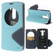 Capa Livro LG G3 Magnética Azul Celeste R$37,60