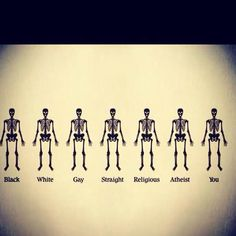 We are alle humans.