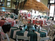 Beach themed Bat Mitzvah at StoneTree Golf Club in Novato, CA