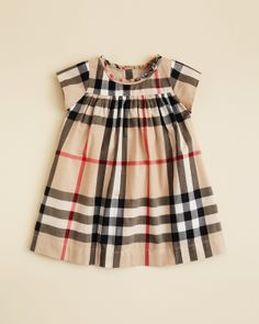 Say what?? Burberry makes a dress named after me?!! It's a sign- I must buy it-yeah right! Burberry Girls' Delia Dress - Sizes 3-18 Months | Bloomingdale's