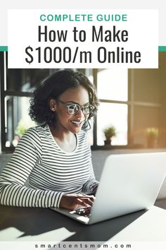 Working from home can give you the opportunity to create a life that you love by making extra money as a side hustle or starting an online business as a full time job at home. Making an extra $1000 a month with an online job could really change your budget! Money Today, Earn Money From Home, Way To Make Money, Easy Money Online, Work From Home Moms, Age, Online Work, Selling Online, African Women