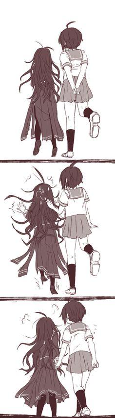 「絶望少女落書きログ」/「柑橘@版権」の漫画 [pixiv]
