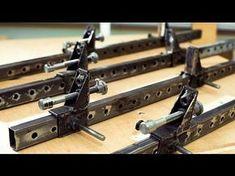 Трубные струбцины своими руками или самодельные ваймы - YouTube