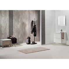 Bathroom panel Bauhaus Cracked cement Våtrumspanel