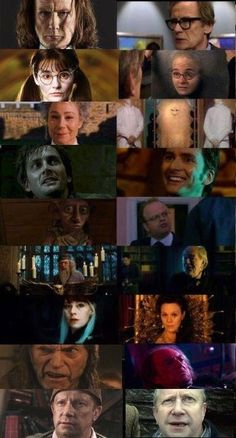 Harry Potter meets Dr. Who!! I noticed some of these on my own... They forgot about Barty Crouch Sr. who was in an episode with  cybermen.  Also forgotten is the kid who played Draco Malfoy ...he starred in one with Martha jones.