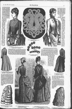 Gracieuse. Geïllustreerde Aglaja, 1885, aflevering 14, pagina 111