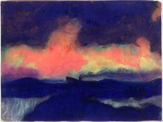 Seascape-Emile Nolde