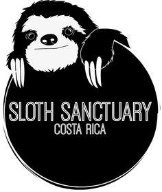 Sloth Sanctuary logo on Behance