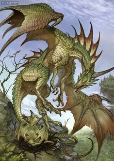 Shun dragon Aix Gail by G. Mythological Creatures, Fantasy Creatures, Mythical Creatures, Pet Dragon, Dragon Art, Dragon Dreaming, Medieval Tapestry, Beautiful Dragon, Dragon Pictures