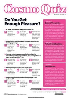 Cosmo relationship quizzes