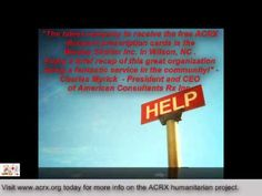 Wesley Shelter Inc. Receive Tribute &  Medicine Help by Charles Myrick of ACRX